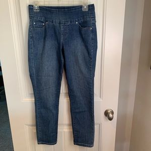 Jag jeans jeggings high rise slim ankle size 4